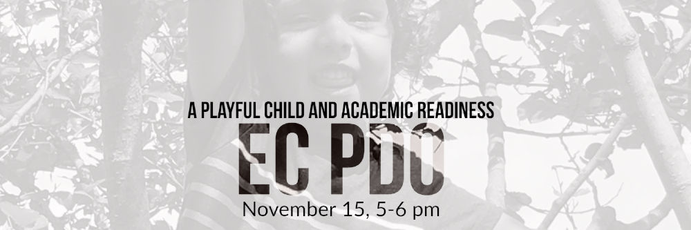 EC PDO: A Playful Child and Academic Readiness