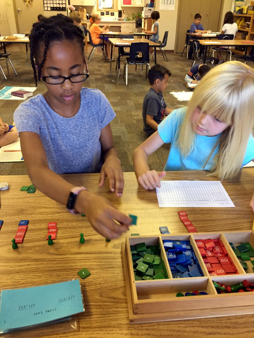 Lower Elementary Long Division Stamp Game